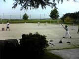 野球の練習