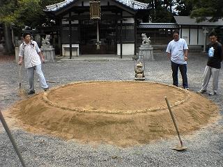 府中神社の土俵