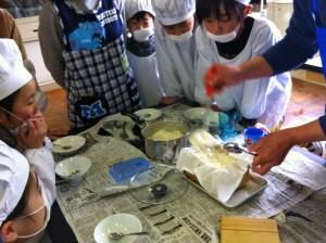 木綿豆腐を作ります